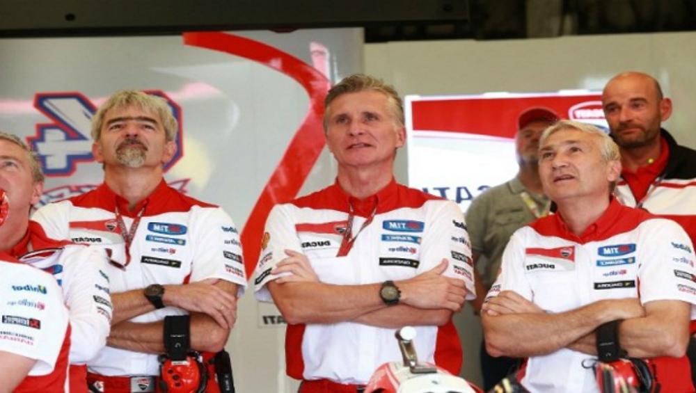 Para petinggi Ducati Corse